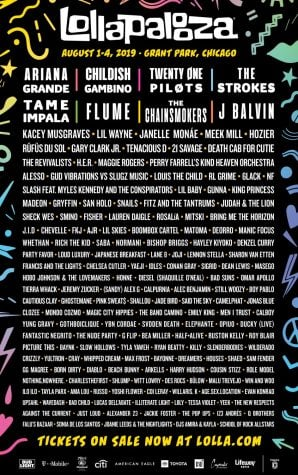 Lollapalooza lineup leaves much to be desired