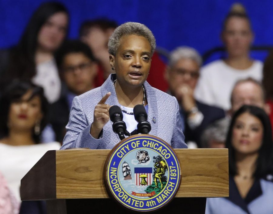 Mayor+of+Chicago+Lori+Lightfoot+speaks+during+her+inauguration+ceremony+Monday%2C+May+20%2C+2019%2C+in+Chicago.
