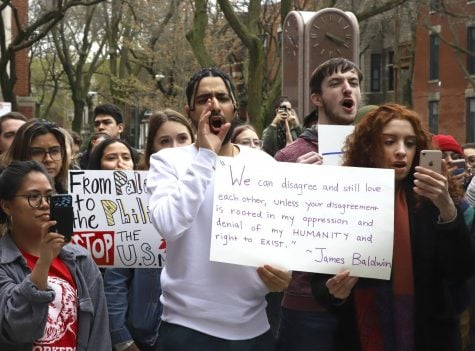 DePaul students stand against hate