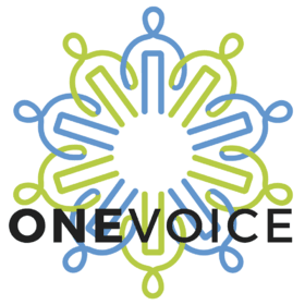 OneVoice supports grassroots activists in Israel, Palestine and internationally who are working to create the conditions needed for a just and negotiated resolution to the Israeli-Palestinian conflict, according to the organization's website.