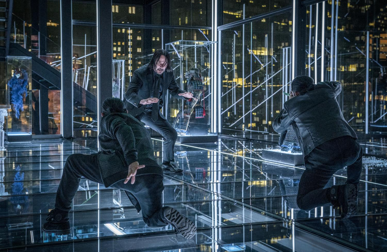 Keanu Reeves as John Wick in