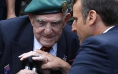 D-Day at 75: Nations honor aging veterans, fallen comrades
