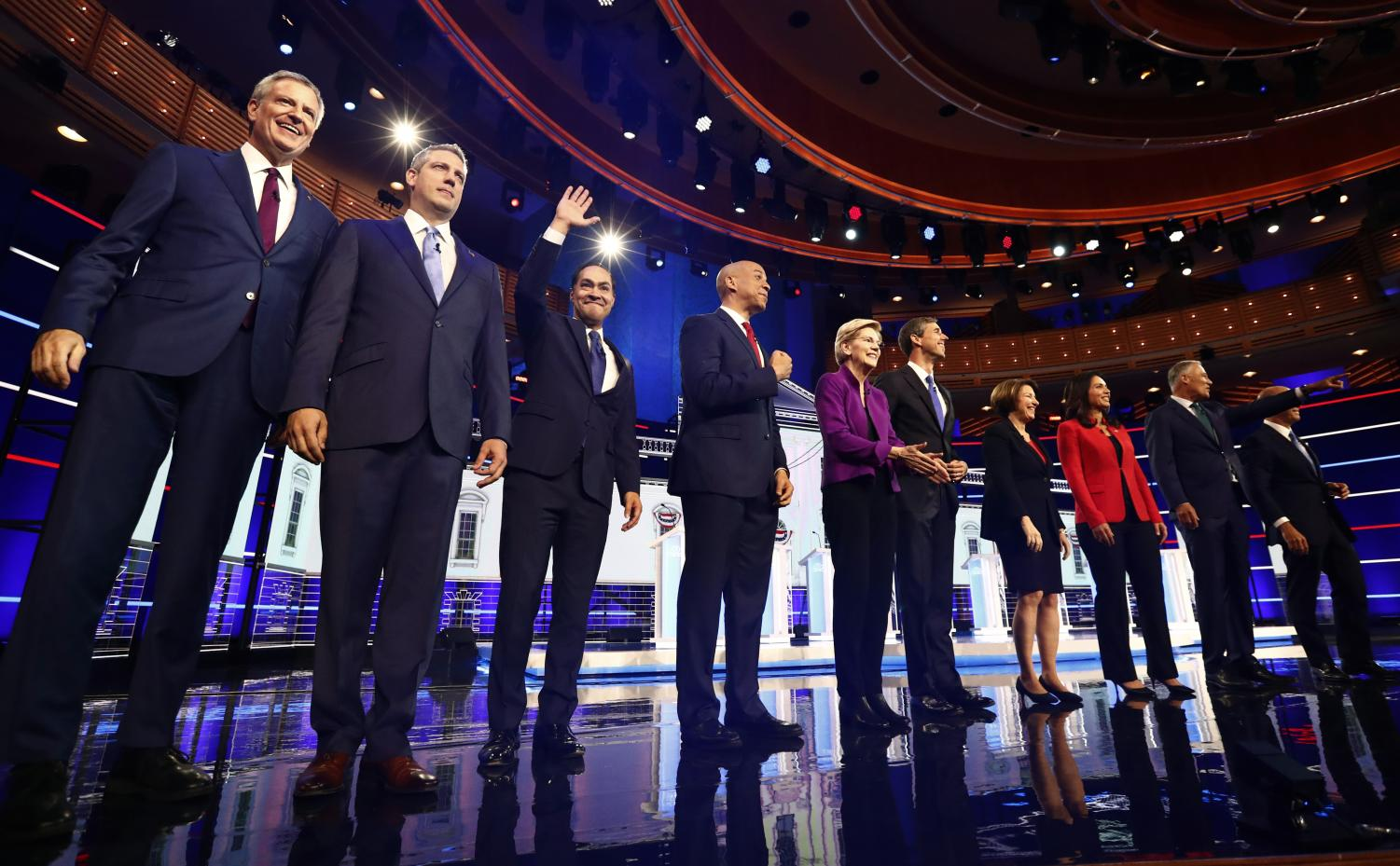 Health care, immigration top issues at Democrats' 1st debate - The