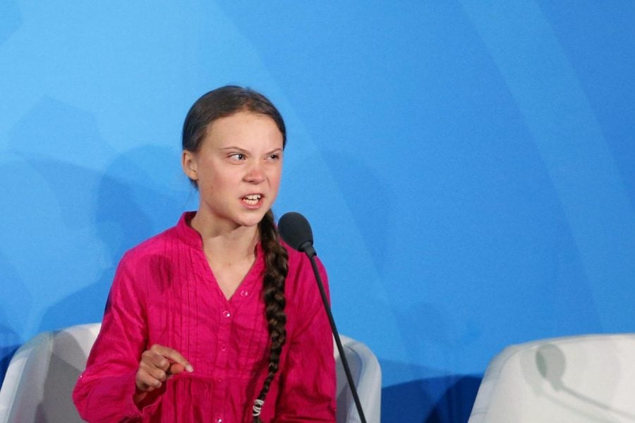 Environmental+activist+Greta+Thunberg%2C+of+Sweden%2C+addresses+the+Climate+Action+Summit+in+the+United+Nations+General+Assembly%2C+at+U.N.+headquarters%2C+Monday%2C+Sept.+23%2C+2019.