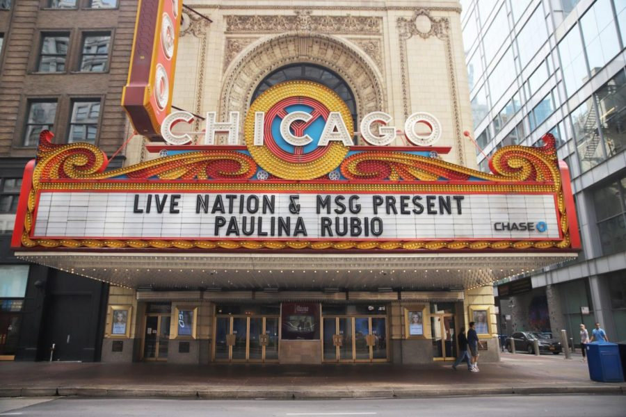 "The Chicago Theatre, which is sometimes called the ""Wonder Theatre of the World,"" has hosted some of the world's greatest performers, from Duke Ellington to Robin Williams."