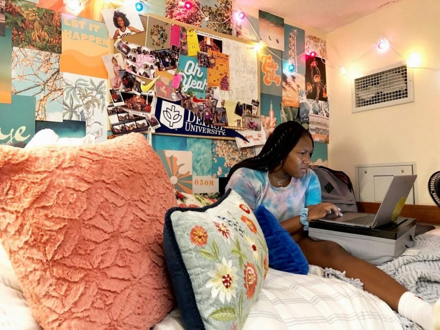 Freshman Amber Gray paid for a larger room but was assigned a single suite instead. This, and multiple other cases, made students question the Housing Department.