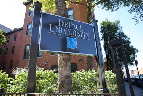 DePaul University Lincoln Park campus.