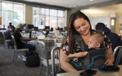 DePaul student tackles cancer, motherhood and full course load