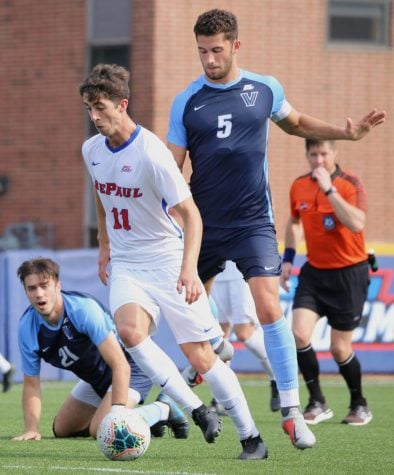 Offense helps DePaul men's soccer secure season's third win