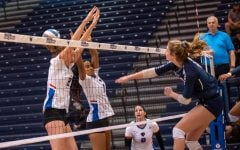 DePaul volleyball splits pair of Big East games over weekend