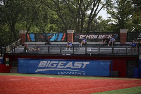 During DePaul's game against Villanova at Wish Field on Friday, only 206 people attended the Blue Demons' conference opener to see a 0-0 draw against the Wildcats.