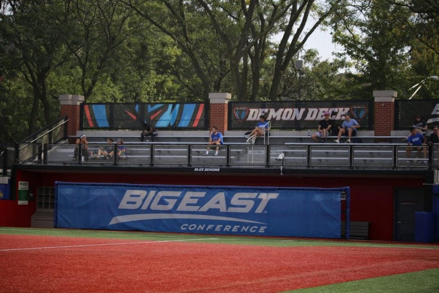 During+DePaul%E2%80%99s+game+against+Villanova+at+Wish+Field+on+Friday%2C+only+206+people+attended+the+Blue+Demons%E2%80%99+conference+opener+to+see+a+0-0+draw+against+the+Wildcats.+