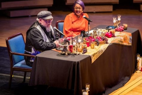 George R. R. Martin gives candid look at what informs his craft during Chicago Humanities Festival