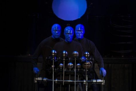 Blue Man Group Chicago tests new instruments, material