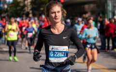Ivy Witczak, DePaul junior, took on 42nd Chicago Marathon for her first race ever