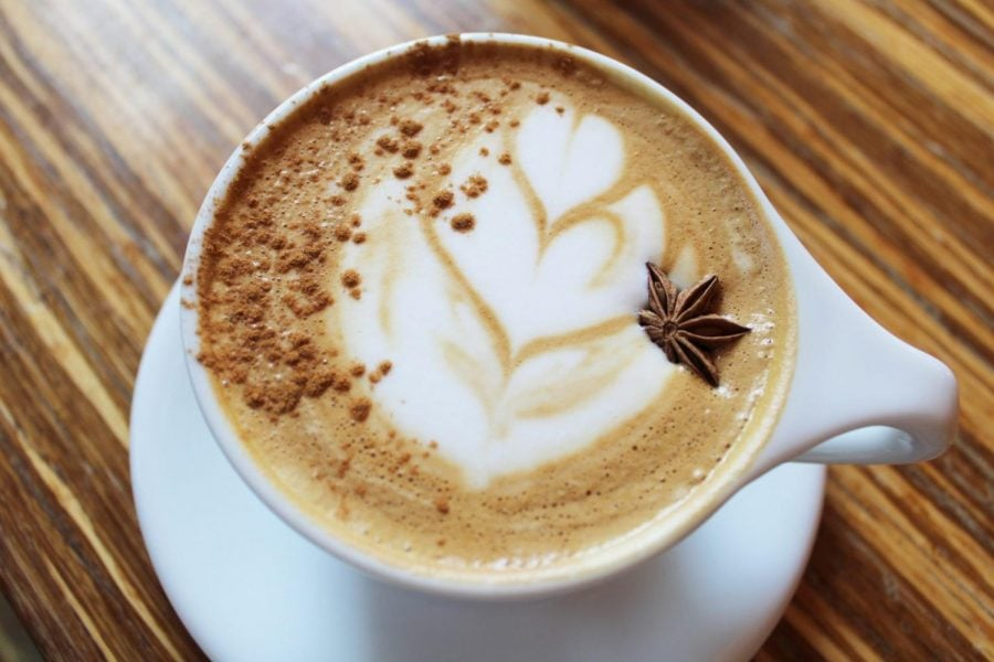 Caffe Streets' Apple Pie Latte is a great choice for anti-pumpkin coffee consumers, offering a sweet yet tart taste that will make your mouth water.