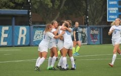 DePaul women's soccer picks up first conference win of season