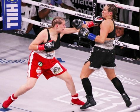 DePaul freshman wins in professional boxing debut