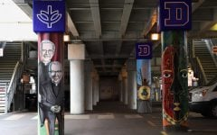 New murals under the Fullerton 'L' stop examine DePaul's history