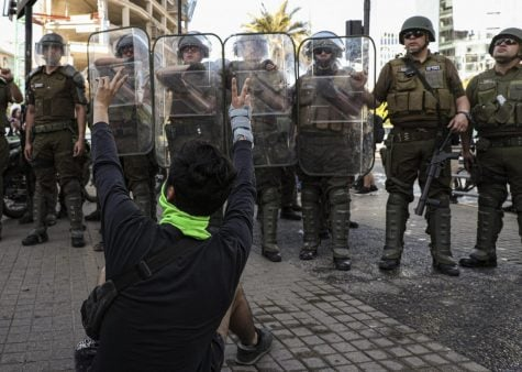 Nationwide protests in Chile garner little U.S. attention