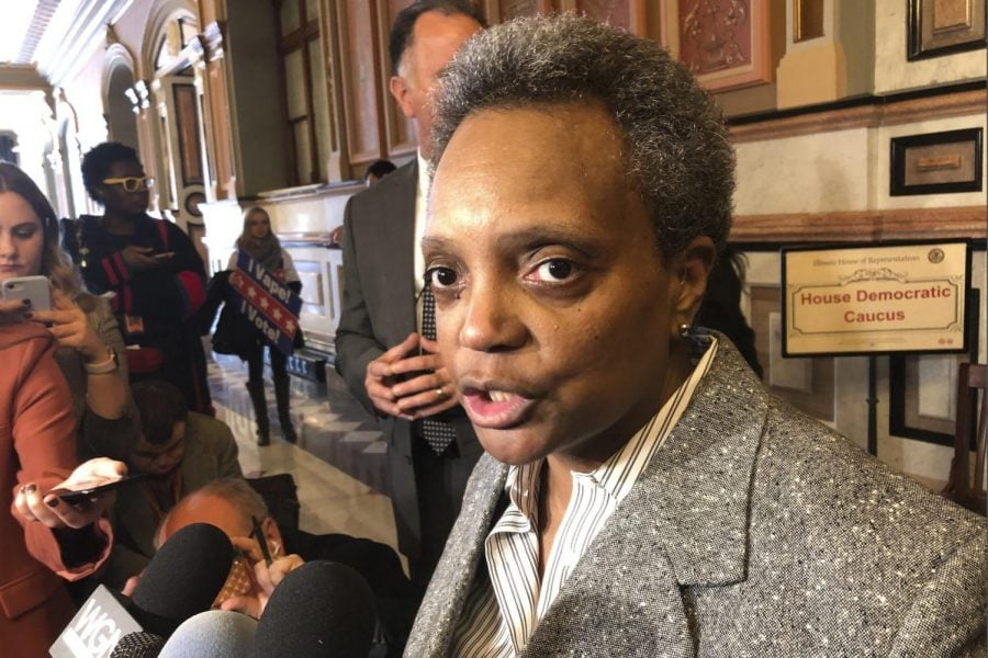 Lightfoot pleads case in Springfield on casino, budget
