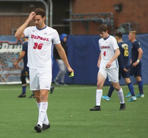 DePaul holds on for 2-1 win in final exhibition game