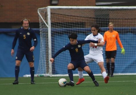 62nd minute goal ends men's soccer season against rival Marquette