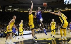 DePaul routs Iowa 93-78 in the Gavitt Tipoff Games