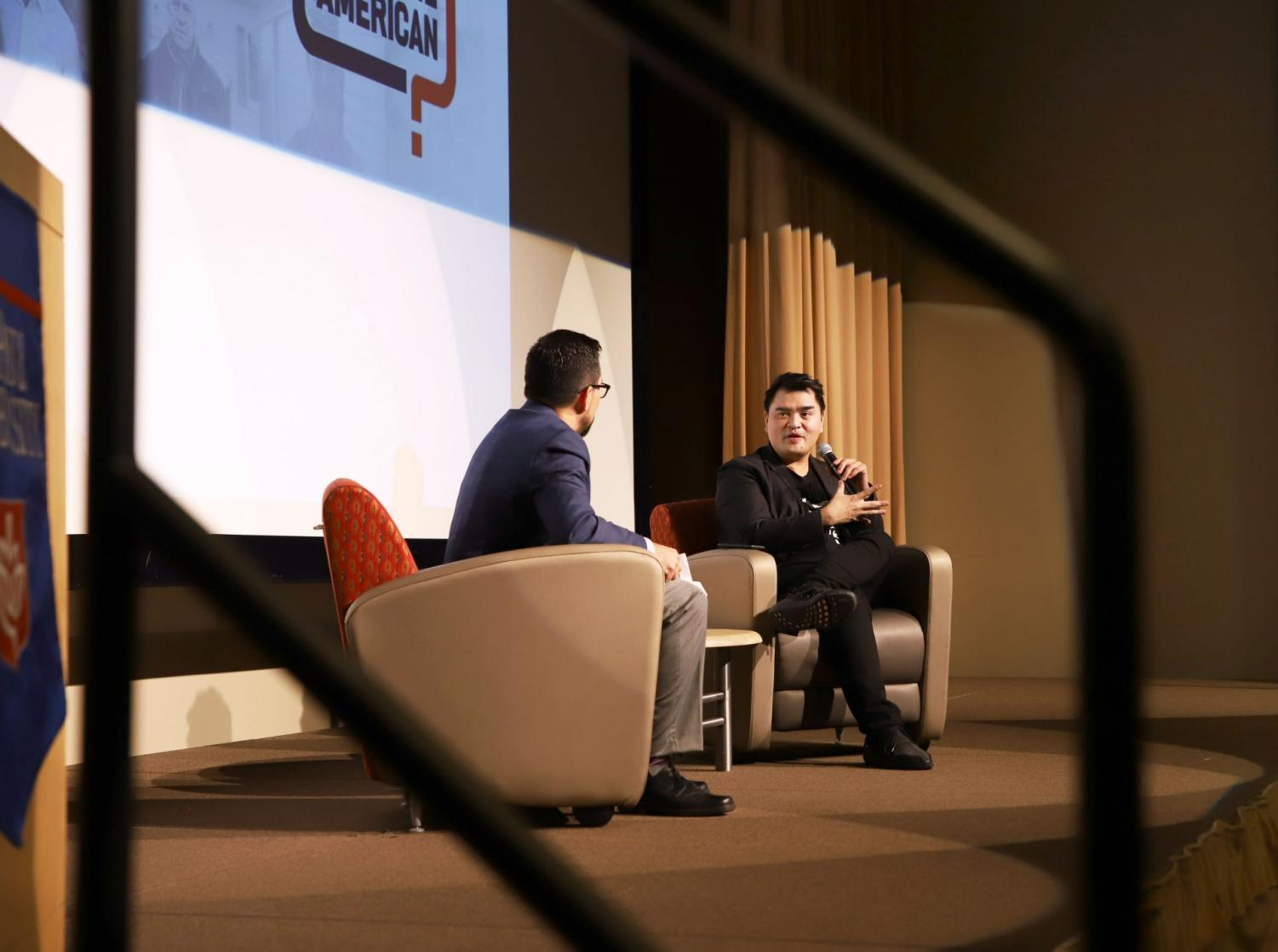 DePaul's third annual President's Lecture series featured Jose Antonio Vargas, an immigrant from the Phillippines and founder of the nonprofit Define America.