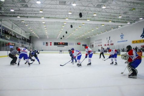 DePaul hockey drops two games against Marian