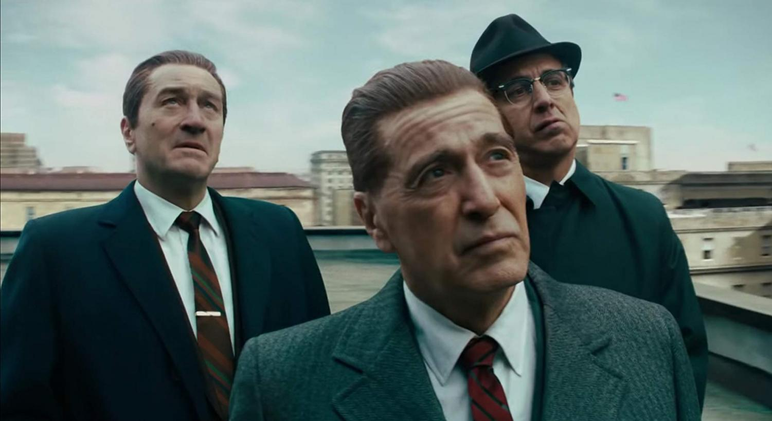 Robert De Niro (left), Al Pacino (center) and Ray Romano (right) offer a performance only the titans of Hollywood could pull off.