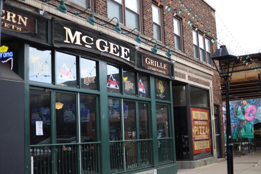 McGee's Tavern, which is located on Webster Avenue in Lincoln Park, is widely regarded at DePaul as a top spot for partying on weekends.