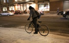 Winter weather doesn't stop Chicago bikers