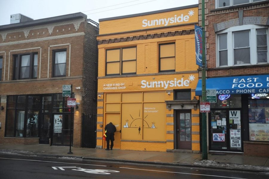 Sunnyside dispensary in Lakeview.