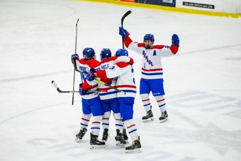 DePaul hockey returns with intensity, splits with Robert Morris