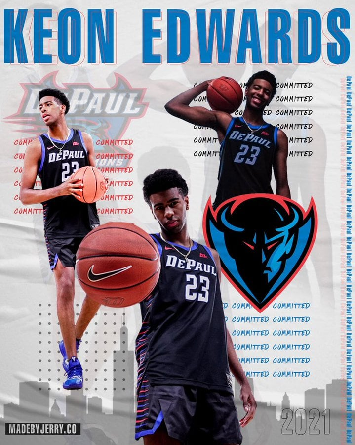 2021+four-star+recruit+Keon+Edwards+verbally+committed+to+DePaul+on+Monday.