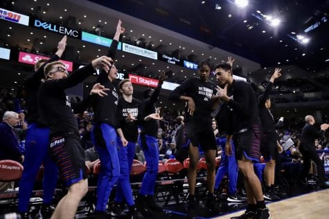 Why have the Blue Demons struggled to close out games this season?