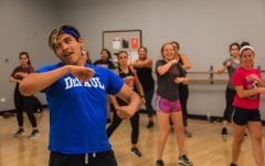 DePaul group fitness classes offer a more comfortable environment to work out