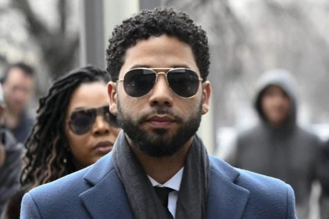 In this March 14, 2019, file photo, Empire actor Jussie Smollett arrives at the Leighton Criminal Court Building for his hearing in Chicago. Smollett faces new charges for reporting an attack that Chicago authorities contend was staged to garner publicity, according to media reports Tuesday, Feb. 11, 2020. The charges include disorderly conduct counts, according to the reports that cite unidentified sources.