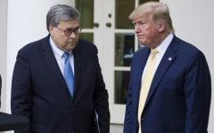 Trump ignores Barr's request to stop tweeting about DOJ