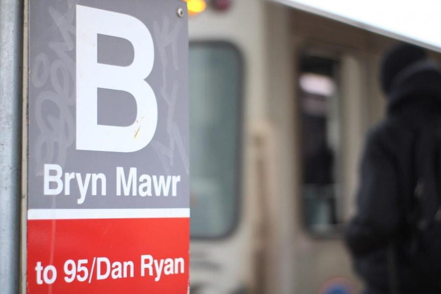 Bryn Mawr Red Line station.