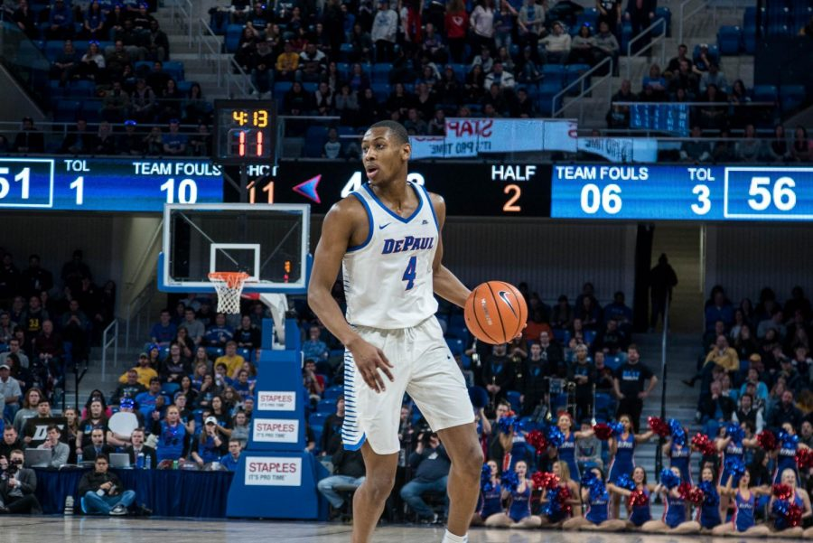 Brandon Cyrus left DePaul after the 2017-2018 season to go to UC Santa Barbara.