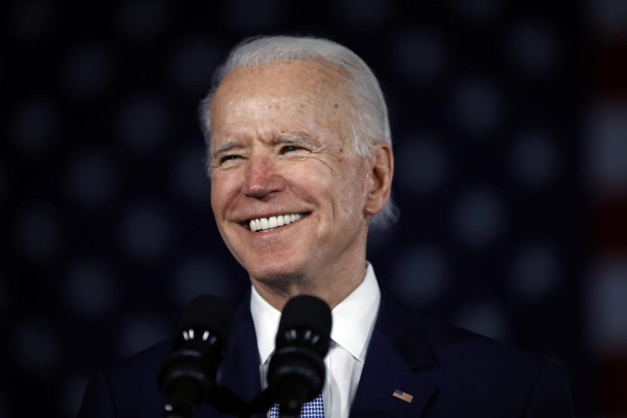 Democratic+presidential+candidate+former+Vice+President+Joe+Biden+speaks+at+a+primary+night+election+rally+in+Columbia%2C+S.C.%2C+Saturday%2C+Feb.+29%2C+2020.