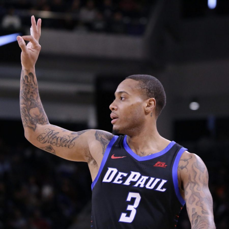 DePaul junior guard Devin Gage is leaving the program at the end of the season.
