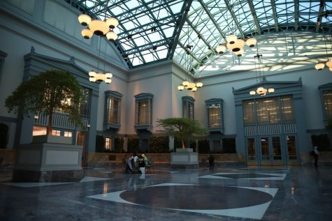 Harold Washington Library in the Loop.