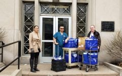 DePaul faculty, staff donate almost all protective gear to local hospitals fighting COVID-19