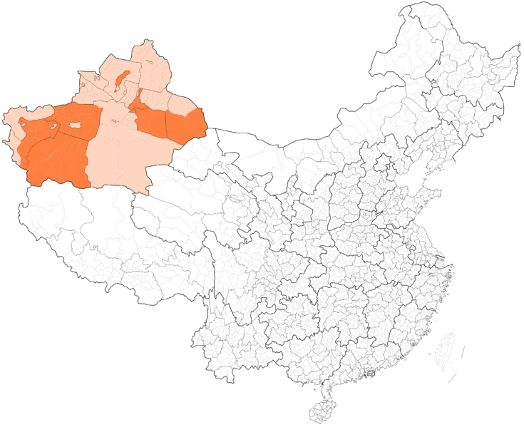 Uyghur_autonomous_prefectures_and_counties_in_China.