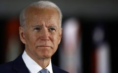 In this March 10, 2020, file photo Democratic presidential candidate former Vice President Joe Biden speaks to members of the press at the National Constitution Center in Philadelphia.