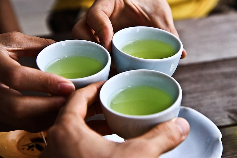 Green tea can help will illnesses thanks to its antimicrobial properties.
