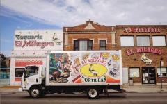 La taqueria y tortilleria El Milagro.